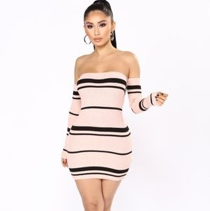 Sherlyn Stripe Dress